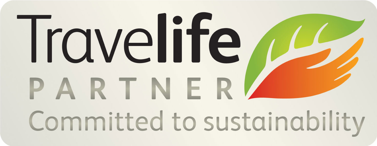 Travelife partner. Committed to sustainability