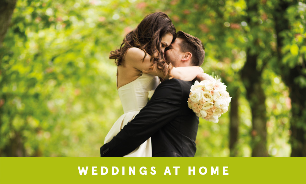 Weddings at home