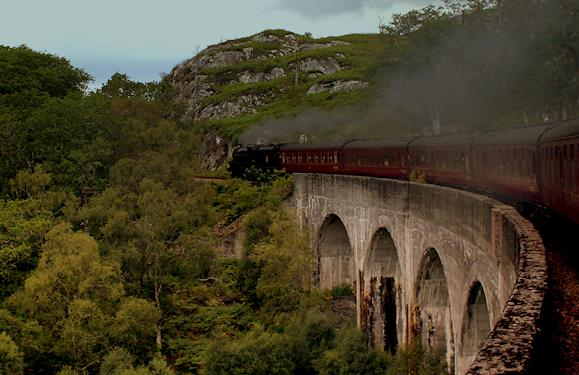 A Magical Train Ride from Glasgow to Mallaig in Scotland
