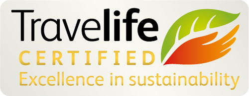 Travelife Certified - Excellence in sustainability
