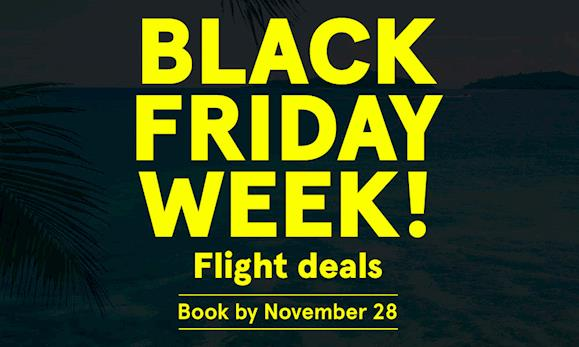 All inclusive vacation packages deals direct flights for Black friday flight deals international flights