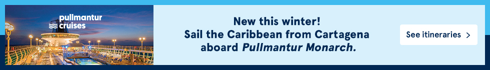 New this winter! Sail the Caribean from Cartagena aboard Pullmantur Monarch. See itineraries