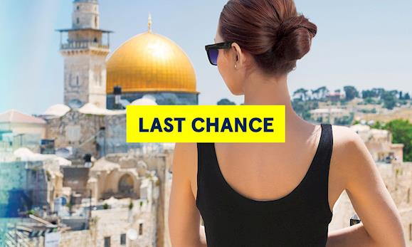 Europe & Israel Summer 2018 Early Booking Promotion - Last chance