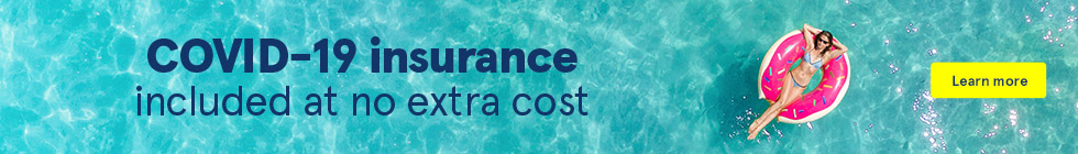 COVID-19 insurance included at no extra cost