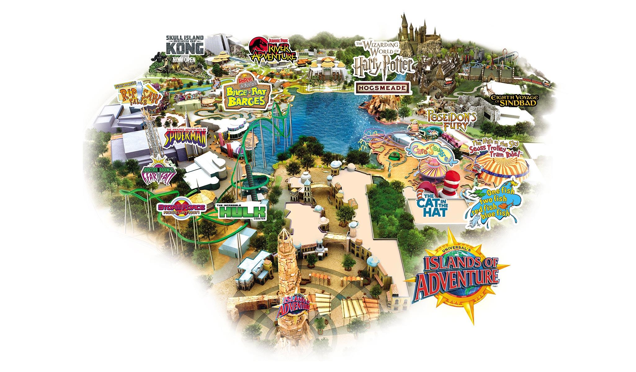 universal orlando resort packages  transat - see map