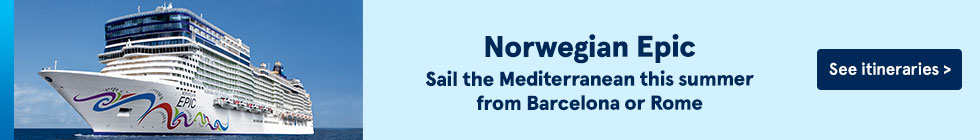 Norwegian Epic. Sail the Mediterranean this summer from Barcelona or Romeé See itineraries.