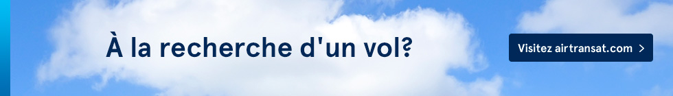 Looking for a flight? Visit airtransat.com
