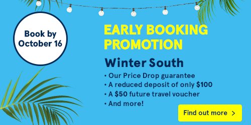 Early Booking Promotion Winter South