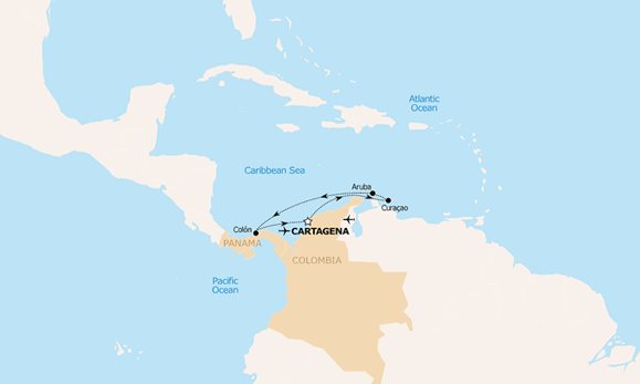 <small>Southern Caribbean A</small>